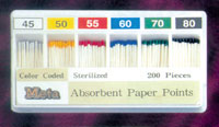 Punte Carta - Paper Points Color C.45 x200
