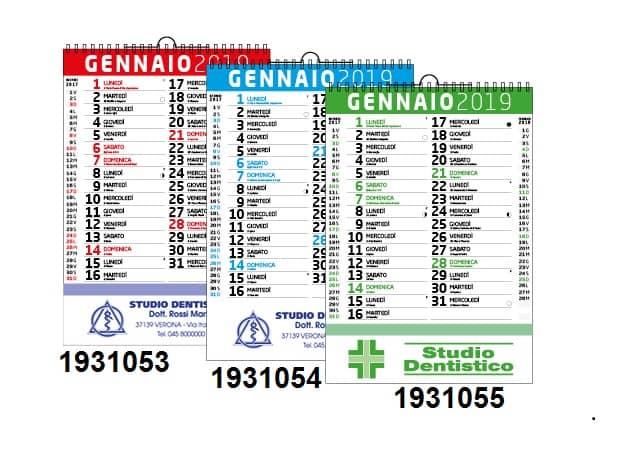 Calendario Parete.Calendario Da Parete Olandese Classico Personalizzato