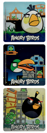 Marketing - Gadgets - Adesivi Angry Birds 100 pz