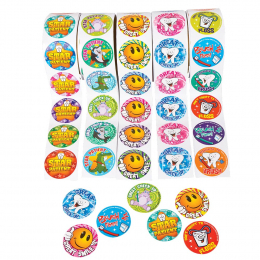 Marketing - Gadgets - Adesivi Dental stickers 500pz
