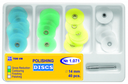 Dischi Polishing Discs ø14 mm 40pz